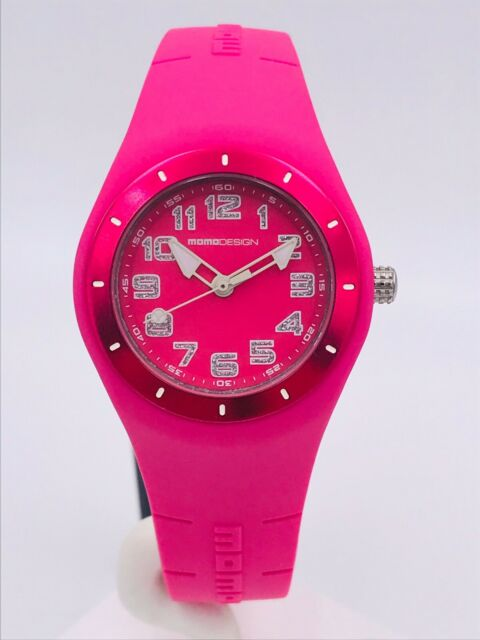 Watch Momodesign Md2006FU11/120 Rubber / Steel Pink 35mm New