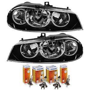 Scheinwerfer-Set-Alfa-Romeo-156-Bj-08-2003-2007-Facelift-H7-H1-inkl-Lampen
