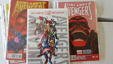 uncanny Avengers Comic lot 1-10 and 8au nm bagged boarded
