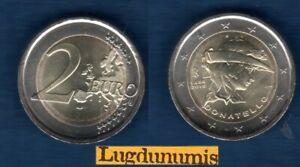 2 euro Commémo Italie 2016 Donatello Provenant de Rouleau - Italia