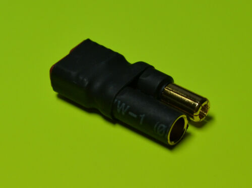 Direct Connect Zero Wire 5.5MM Bullet Male to Deans T-Plug Female