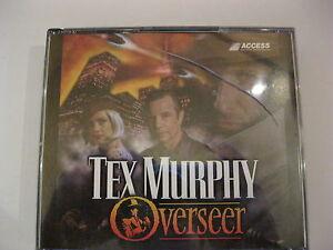 Tex-Murphy-Overseer-PC-Game-CD-ROM-Access