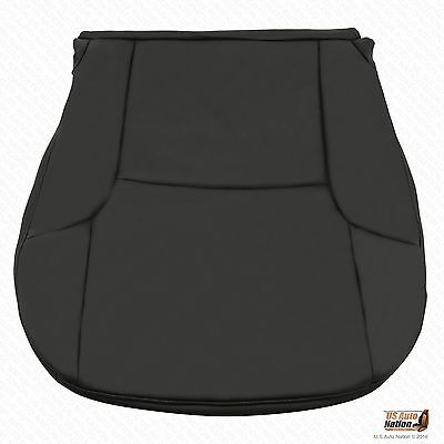 Driver Side Bottom Black Leatherette Seat Cover For 2007
