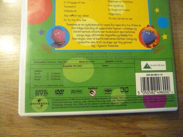 Tweenies syng med, DVD, tegnefilm