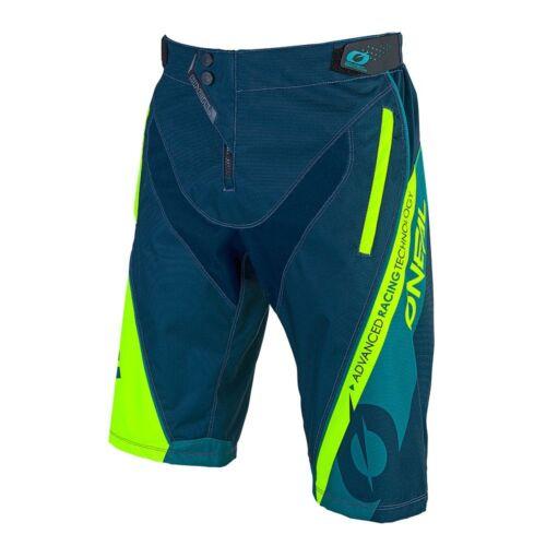O /'neal elemento Hybrid FR MX DH MTB short pantalón corto azul//verde 2019 oneal