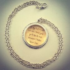 Outlander Necklace-Jewellery-Sassenach-Jamie Fraser-Christmas Stocking Filler