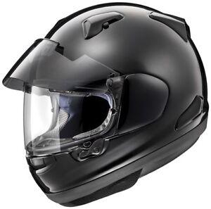 ARAI-QV-PRO-GLOSS-BLACK-TOURING-ROAD-MOTORCYCLE-HELMET