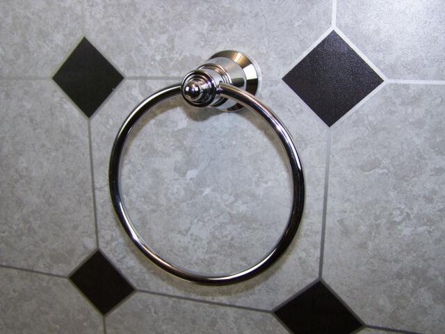 Manor House Dorf. Towel Ring. Chrome. Brand new