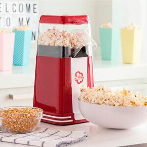 Machine-a-Popcorn-Retro-Appareil-Special-Pop-Corn-1200W-Rouge-Neuf