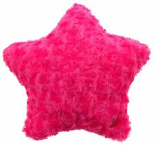 """Blue Star Pillow Multi Color LED Light Up Flash 13/"""" Microbeads Plush Throw Couch"""
