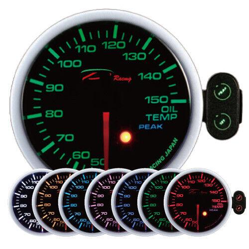 D Racing 60mm Öltemperatur Anzeige Instrument oil temp warning peak gauge RS4