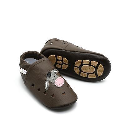 Bello Pantofole's Pantofole Liya - #699 Estate Magari Asino In Marrone Scuro-