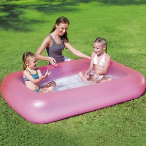 Swimmingpool im garten kinder  Kinder Swimming Pool Garten Wasser Becken Bad Kind Planschbecken ...