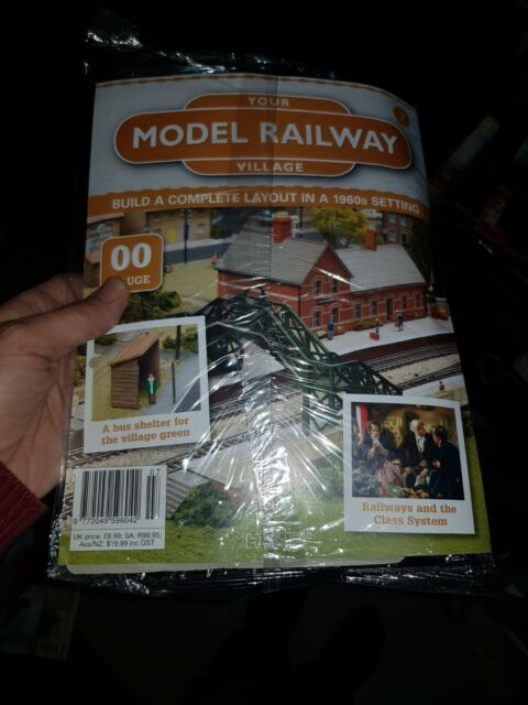 Hachette Part Works: Your Model Railway Village Model Parts & Magazine Issue 7