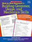 Week-By-Week Homework for Building Grammar, Usage, and Mechanics Skills: Grades 3-6 by Mary Rose (Paperback / softback, 2010)