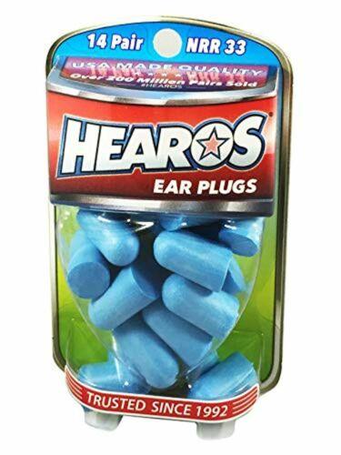 HEAROS Xtreme Ear plugs Best In Class Noise Cancelling Disposable Foam Earplug