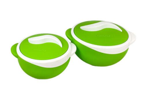 2Pc plastique Hot Pot Thermique Isolé Casserole Food Warmer serving dish