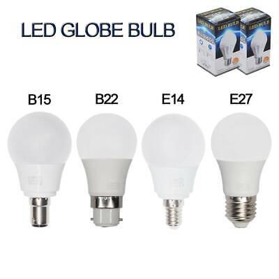 12//6x Bright E14 B15 5W LED Globe Light Bulbs Spotlight SES SBC Ball Shape Lamp