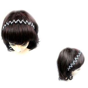 Image is loading 12pcs-Women-Girl-Rhinestone-Black-Zigzag-Headband-Hair- af89329964f