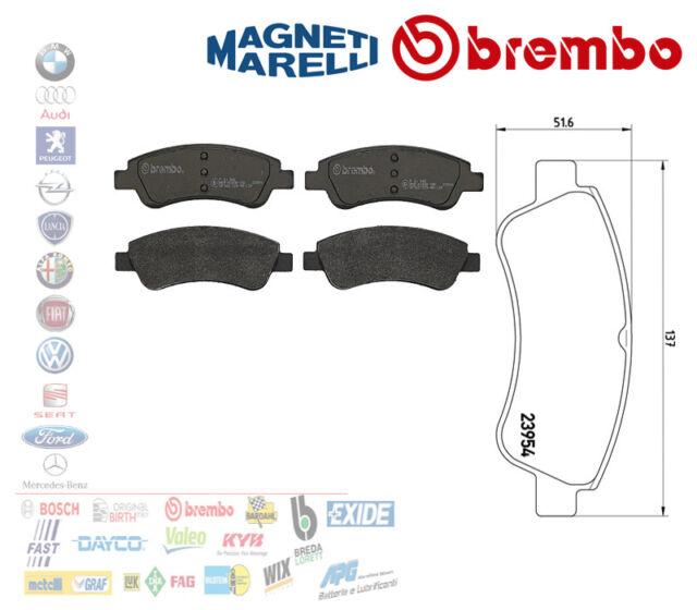 Brembo P24055 Pastiglia Freno Disco Anteriore