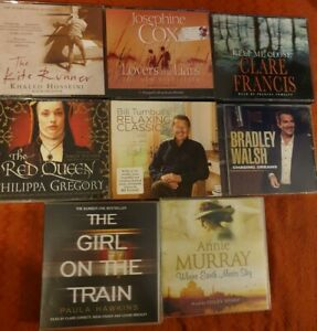 Audio-Book-Bundle-Paula-Hawkins-Josephine-Cox-Clare-Francis-Annie-Murray-Etc