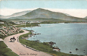 Irish Recess Co. Galway Country Eire Old Postcard Ireland Unposted.