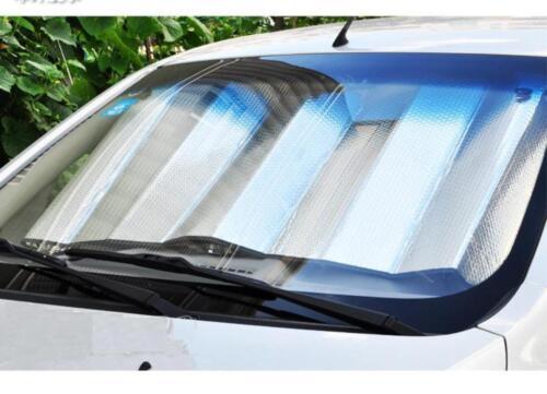 Car Vehicle Dash Sun Reflector Visor Shade Tow Ways Silver Cooler Panel Block