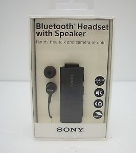 c9c18bfe1f0 Image is loading Sony-SBH56-Bluetooth-Headset-with-Speaker-Black-Retail-