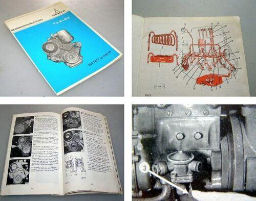 Deutz F3L F4L F5L F6L  912 Betriebsanleitung 1974