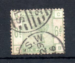GB-QV-1883-6d-green-good-used-SG-194-WS13566