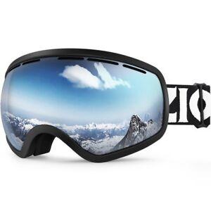 7f66dda7896 ZIONOR X10 Ski Snowboard Goggles Snow OTG Anti-fog UV Protection for ...