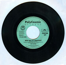 Philippines DEF LEPPARD Miss You In A Heartbeat 45 rpm PROMO Record