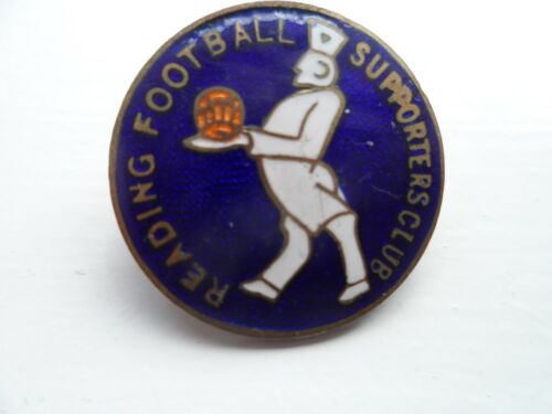 Reading Football Supporters Club Enamel Badge