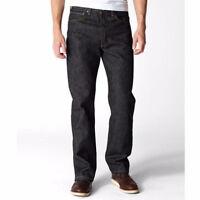 Levis 501 Black Rigid Jeans