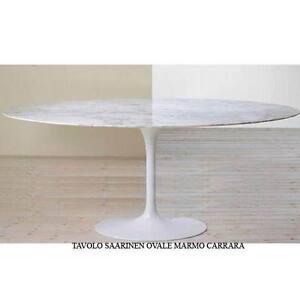 TAVOLO-TULIP-OVALE-224x127-MARMO-CARRARA-SAARINEN-TABLE-MADE-IN-ITALY