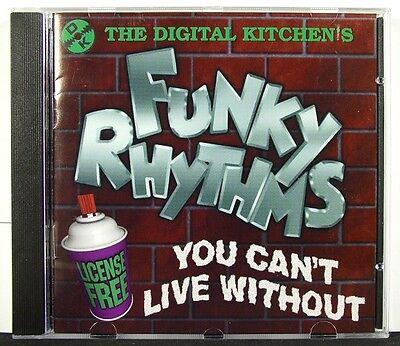 The Digital Kitchen´s Funky Rhythms - Rare Samples & Loops