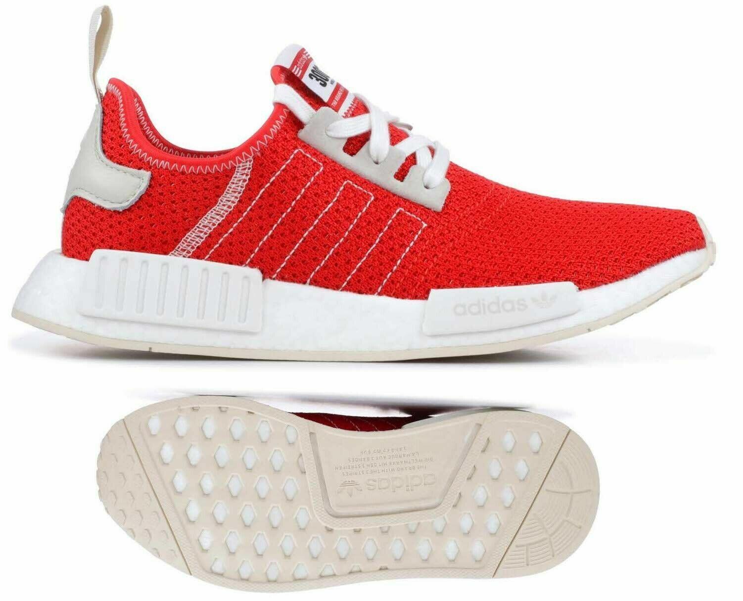 Nuovi adidas NMD R1 Mens scarpe da  ginnastica bianca tutte le taglie  prezzi eccellenti
