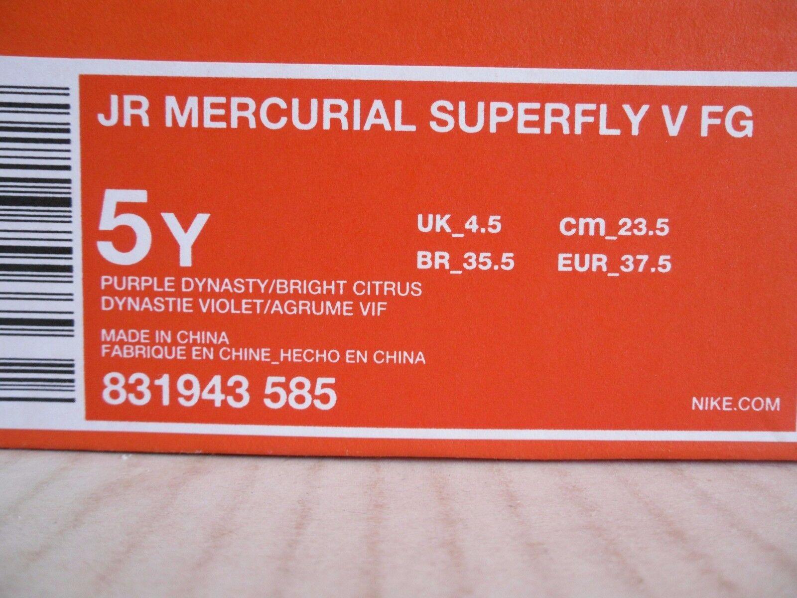 e42970f67 ... promo code for nike jr mercurial superfly v fg purple dynasty dynasty  dynasty sz 5y femmes