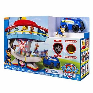 Paw Patrol Look-out Playset with Chase and 1 Police SUV Vehicle NEW