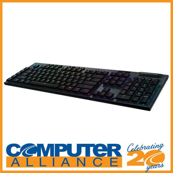 Logitech G915 Lightspeed Wireless RGB Clicky Mechanical Keyboard 920-009228