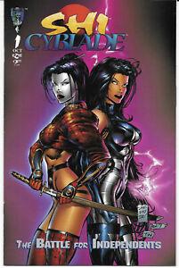 Shi-Cyblade-1-1995-NM-1St-Print-Crusade-Comics-Free-Bag-Board