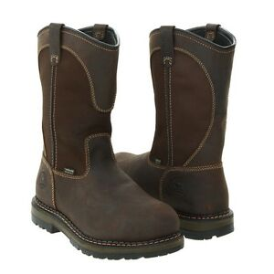 97236071aa5 Details about Red Wing Irish Setter Work Boots Pull On Safety Toe 83900