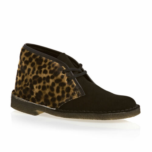 Rrp £ 7 leopardo Clarks Desert estilo Originals 99 Nuevo Estampado Boot Uk Womens w8vxqP