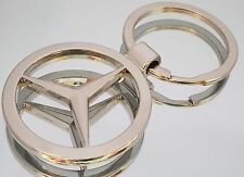Mercedes Benz coche insignia llavero de metal con bolsa de regalo [S1]