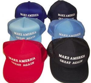 8a81fe53fde MAGA MAKE AMERICA GREAT AGAIN VINTAGE TRUCKER MESH HAT baseball cap ...