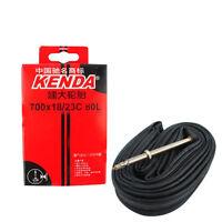 Rubber Road Bicycle Inner Tube For KENDA 700x18/23c AV 48L/60L/80L Presta Valve