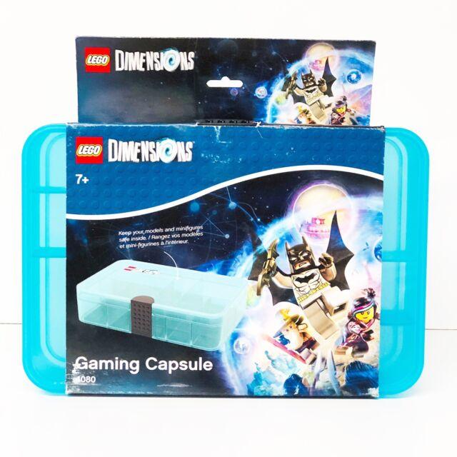 "Blue Storage Case Lego Dimensions Gaming Capsule 4080 10.5/""L X 7W/"" X 2.5/""H"