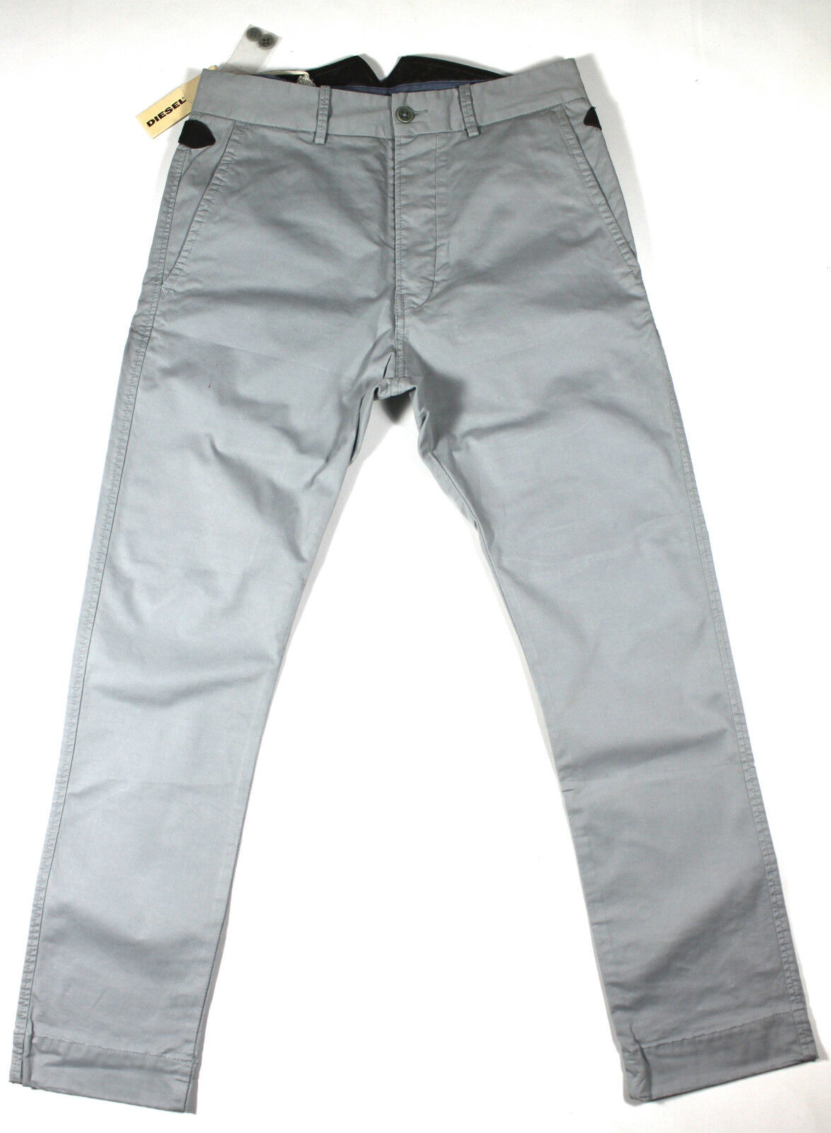 BRAND NEW DIESEL KUGAN 00GPW 94G PANTS 28X32 CARred FIT STRAIGHT LEG RRP