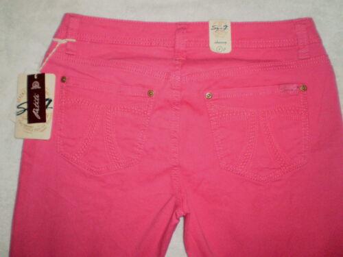 Seven 7 Premium Stretch Denim Jeans Womens Skinny Petite 3 Colors New $64