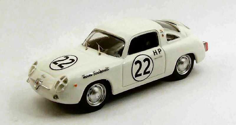 en linea Fiat Abarth 750 Zagato  22 22 22 Winner 4 H Sebring 1960 P. Richards 1 43 Model  estilo clásico